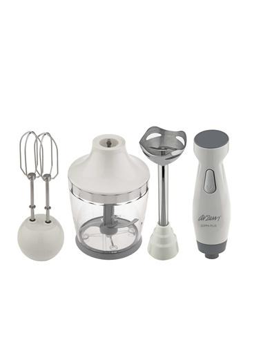Arzum Ar1011 Soppa Plus 600W Blender Seti Beyaz
